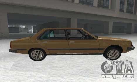 Renault 18 para GTA San Andreas left