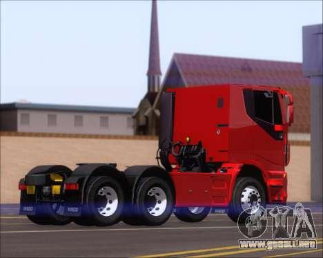 Iveco Stralis HiWay 6x4 para la visión correcta GTA San Andreas