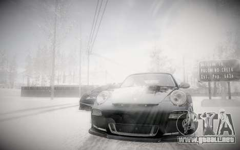 Invierno 2.0 ENBSeries para GTA San Andreas