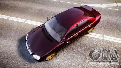 Mercedes-Benz S600 W220 para GTA 4 visión correcta