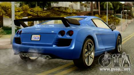 GTA 5 Obey 9F Coupe IVF para GTA San Andreas left