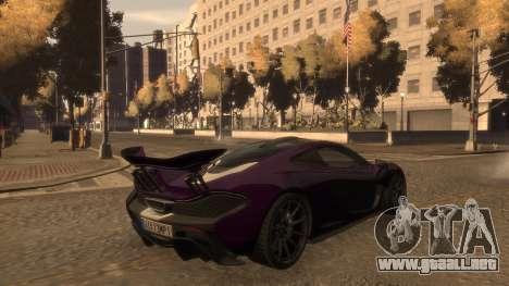 McLaren P1 2013 [EPM] para GTA 4