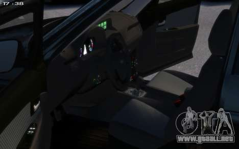 Lada 2172 para GTA 4 vista hacia atrás