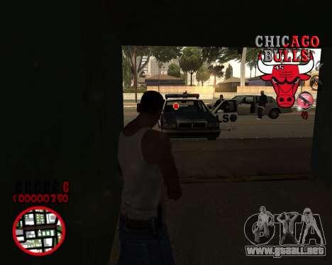 C-HUD by Mefisto para GTA San Andreas tercera pantalla