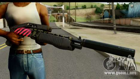 Red Tiger Combat Shotgun para GTA San Andreas tercera pantalla