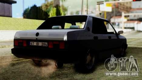 Tofas Dogan SLX para GTA San Andreas left