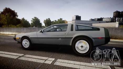 DeLorean DMC-12 [Final] para GTA 4 left