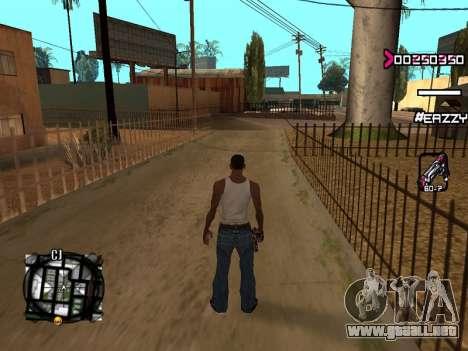 C-HUD WanTed para GTA San Andreas