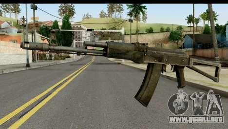 De plástico AKS-74 para GTA San Andreas