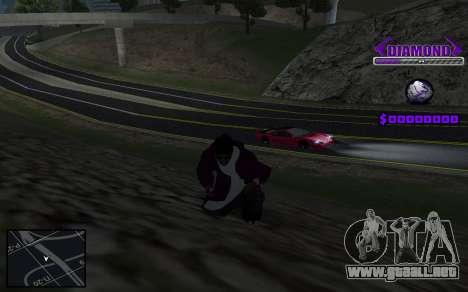 C-HUD Diamond Gangster para GTA San Andreas