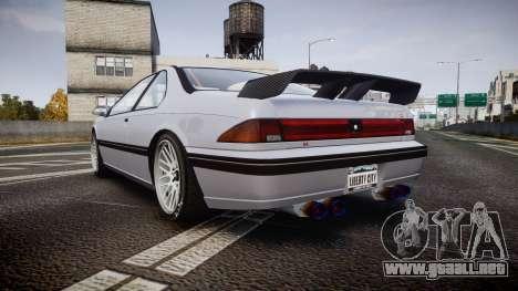 Vapid Fortune XTR para GTA 4 Vista posterior izquierda