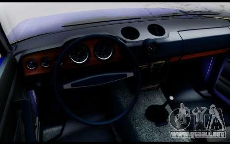 VAZ 2106 Escorrentía para GTA San Andreas vista posterior izquierda