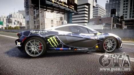 McLaren P1 2014 [EPM] Ken Block para GTA 4 left