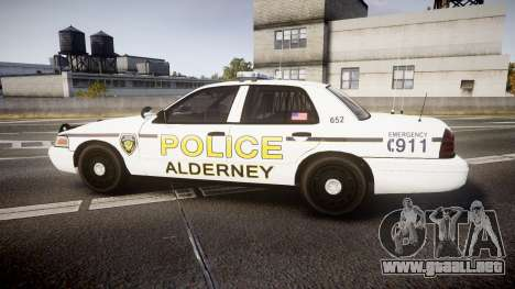 Ford Crown Victoria Police Alderney [ELS] para GTA 4 left