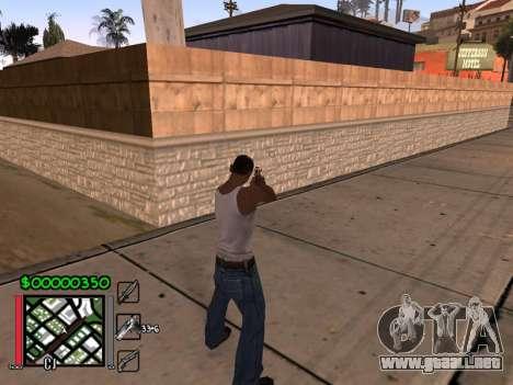 Classic C-HUD 3.4 by Niko para GTA San Andreas segunda pantalla