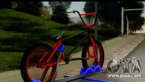 New Elegy Editons para GTA San Andreas vista posterior izquierda