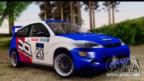 Ford Focus para GTA San Andreas