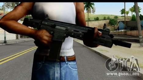 SCAR from from State of Decay para GTA San Andreas tercera pantalla
