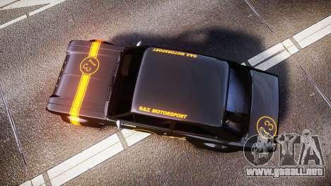 Ford Escort RS1600 PJ13 para GTA 4 visión correcta