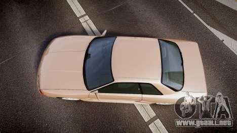 Nissan Skyline R32 GT-R 1993 para GTA 4 visión correcta