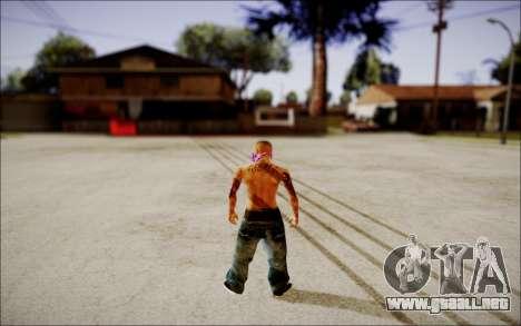 Ghetto Skin Pack para GTA San Andreas sucesivamente de pantalla