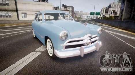 Ford Custom Fordor 1949 para GTA 4