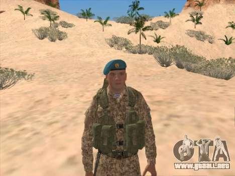 Granadero de las tropas aerotransportadas de la para GTA San Andreas segunda pantalla