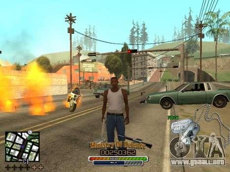 C-HUD для Ejército para GTA San Andreas
