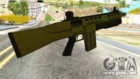 Assault Shotgun from GTA 5 para GTA San Andreas segunda pantalla