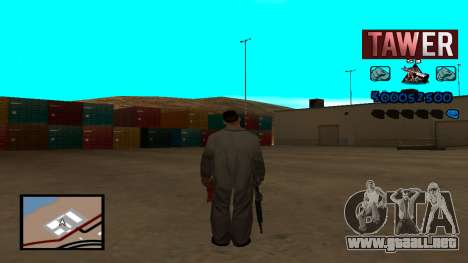 C-HUD Tawer para GTA San Andreas segunda pantalla