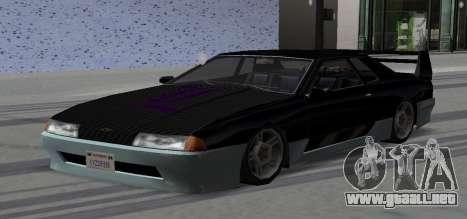 Luni Elegy para visión interna GTA San Andreas