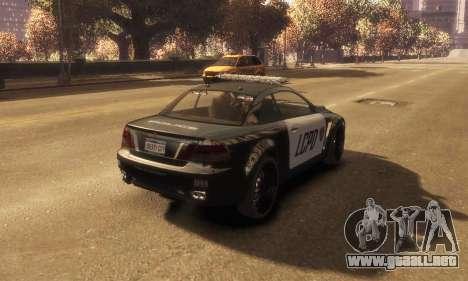 GTA V Ubermacht Sentinel Police [ELS] para GTA 4 left