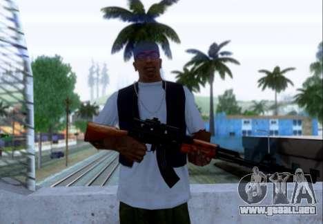 Akmn con CBE para GTA San Andreas