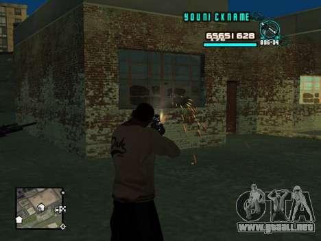 C-HUD Cosmos para GTA San Andreas