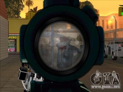 Sniper Skope Mod FIX para GTA San Andreas tercera pantalla