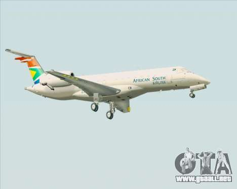 Embraer ERJ-135 South African Airlink para la visión correcta GTA San Andreas