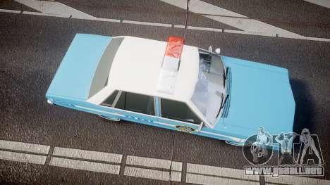 Ford Fairmont 1978 Police v1.1 para GTA 4 visión correcta