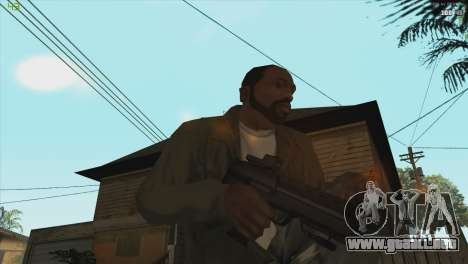 MP7 from Killing floor para GTA San Andreas tercera pantalla