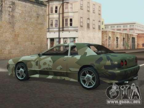 Elegy GTR para la visión correcta GTA San Andreas