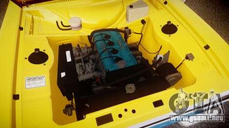 Ford Escort RS1600 PJ93 para GTA 4 vista hacia atrás