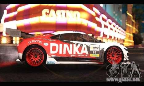 Dinka Jester Racear (GTA V) para GTA San Andreas left