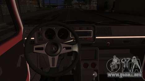 Volkswagen Golf Mk1 GTD para la visión correcta GTA San Andreas