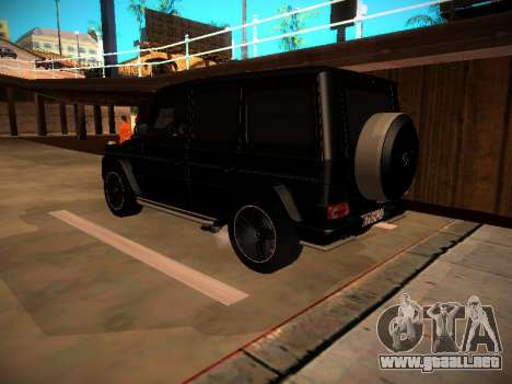 Mercedes-Benz G500 Bluetec 2014 para GTA San Andreas