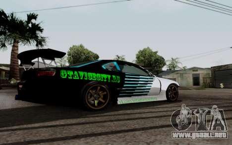Nissan Silvia S15 v3 para la visión correcta GTA San Andreas