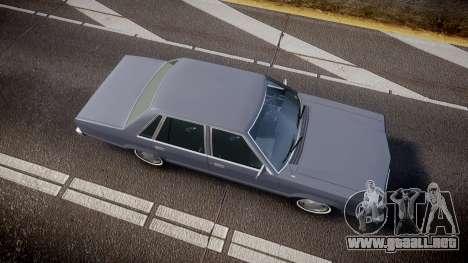 Ford Fairmont 1978 v1.1 para GTA 4 visión correcta