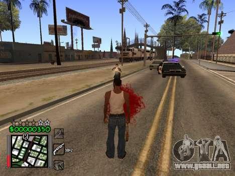 Classic C-HUD 3.4 by Niko para GTA San Andreas tercera pantalla
