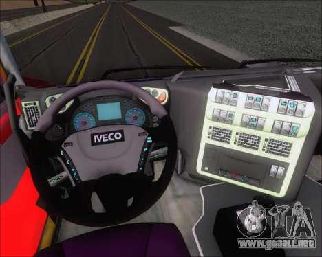 Iveco Stralis HiWay 6x4 para la vista superior GTA San Andreas