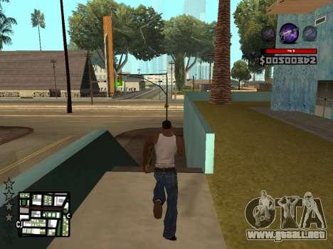 C-HUD by Granto para GTA San Andreas sucesivamente de pantalla