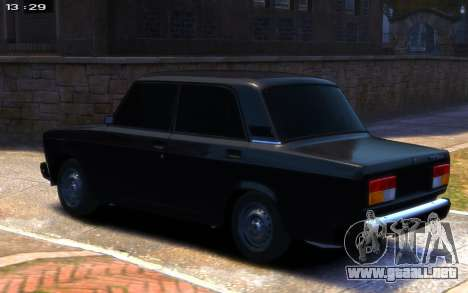 VAZ 2107 R13 para GTA 4 left