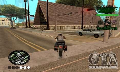 C-HUD Grove St. Family para GTA San Andreas tercera pantalla